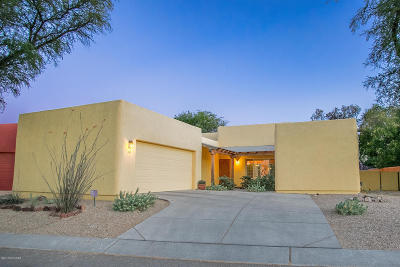 Tucson Single Family Home Active Contingent: 10514 E John McNair Place
