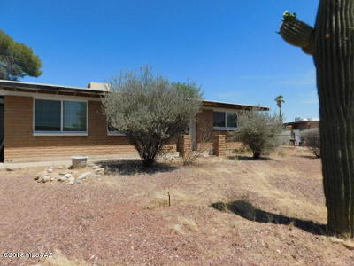 Tucson Single Family Home For Sale: 7512 N Placita De Teresa