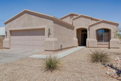 Marana Single Family Home Active Contingent: 1610 N Sahuara Avenue