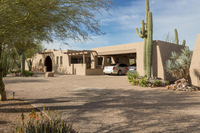 Tucson Single Family Home Active Contingent: 6969 N Wade Road