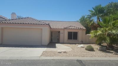 Tucson Single Family Home Active Contingent: 3518 W Thundercloud Loop