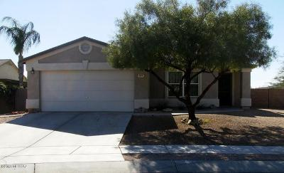 Tucson Single Family Home Active Contingent: 6089 W Veiled Haven Place