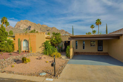 Tucson Townhouse Active Contingent: 51 W Oro Place