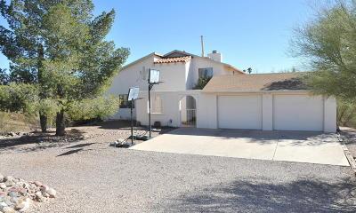 Tucson Single Family Home Active Contingent: 4650 N Tortolita Road