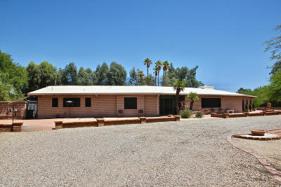 Pima County Single Family Home For Sale: 3371 E Camino Campestre