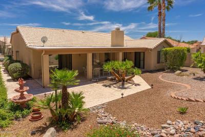 Saddlebrooke Single Family Home For Sale: 64430 E Canyon Shadows Lane
