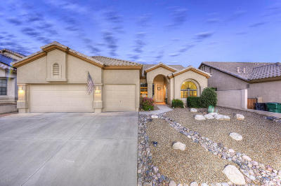 Oro Valley Single Family Home For Sale: 11136 N Par Drive