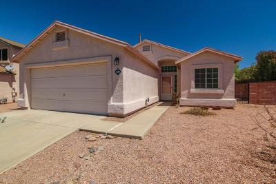 Tucson Single Family Home For Sale: 3640 W Sunglade Drive