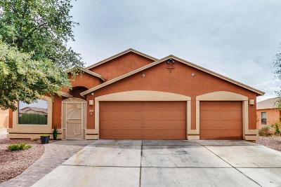 Pima County Single Family Home Active Contingent: 7601 S Carlisle Avenue
