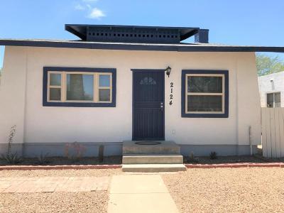 Tucson Single Family Home For Sale: 2124 E Helen Street