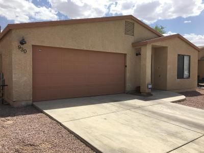 Single Family Home For Sale: 930 E Vuelta Suave