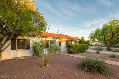 Tucson Single Family Home Active Contingent: 4102 E Waverly Street