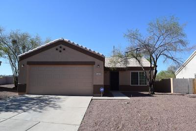 Tucson Single Family Home For Sale: 1260 W Crystal Palace Place