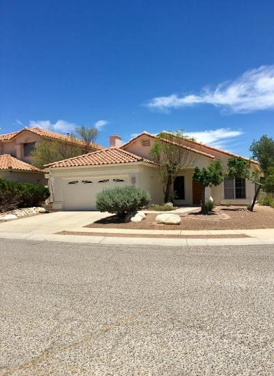 Tucson Single Family Home For Sale: 5540 Weeping Rock Drive