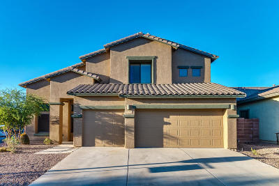 Tucson Single Family Home Active Contingent: 7502 W Crimson Ridge Drive