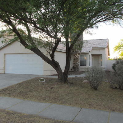 Tucson Single Family Home Active Contingent: 7086 W Hunnington Drive
