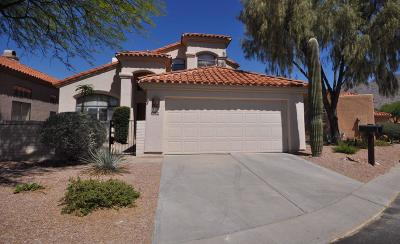 Tucson Single Family Home For Sale: 5899 N Misty Ridge Drive