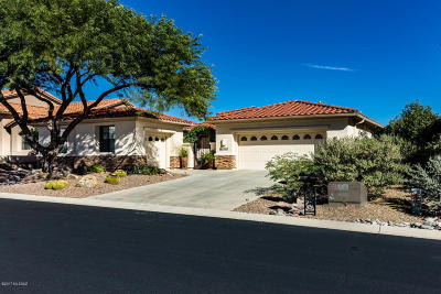 Saddlebrooke Single Family Home Active Contingent: 38027 S Boulder Wind Drive