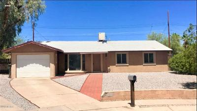 Tucson Single Family Home Active Contingent: 2732 S Gwain