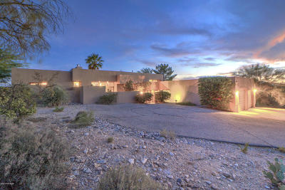 Tucson Single Family Home Active Contingent: 5100 N Soledad Primera