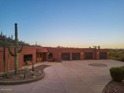 Tucson Single Family Home For Sale: 12560 E Thunderbird Trail