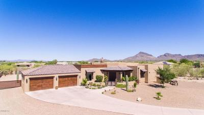 Pima County Single Family Home Active Contingent: 4996 S Cat Mountain Road