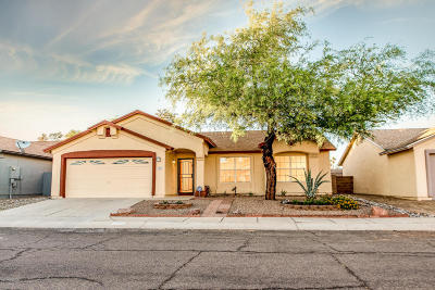 Tucson Single Family Home Active Contingent: 2570 W Camino Del Deseo