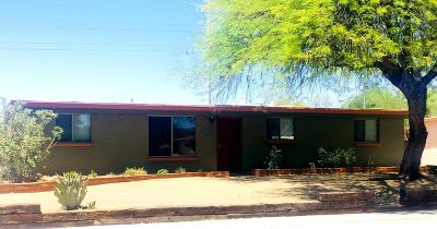 Tucson Single Family Home Active Contingent: 4849 N Idaho Place