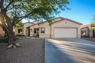 Tucson Single Family Home Active Contingent: 4252 W Tombolo Trail