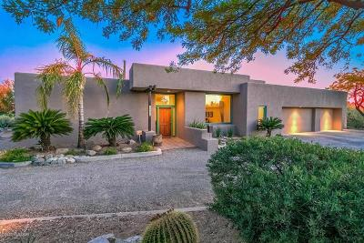 Tucson Single Family Home Active Contingent: 4804 N Camino Luz