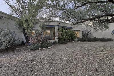 Tucson Single Family Home Active Contingent: 8221 E Circulo Del Oso