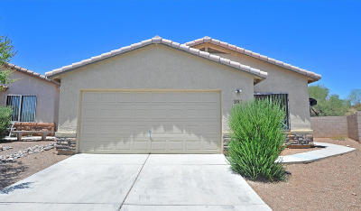 Tucson Single Family Home Active Contingent: 2961 N Mechica Court