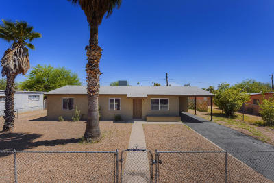 Tucson Single Family Home Active Contingent: 3638 E 23rd Street