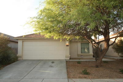 Tucson Single Family Home Active Contingent: 2476 W Tyler River Drive