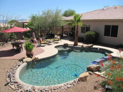 Marana Single Family Home Active Contingent: 4848 W Saguaro Point Place