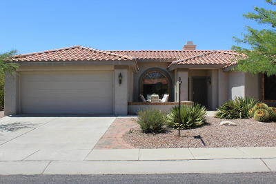 Oro Valley Single Family Home Active Contingent: 14581 N Alamo Canyon Drive