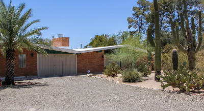Tucson Single Family Home Active Contingent: 7565 N San Lorenzo Drive