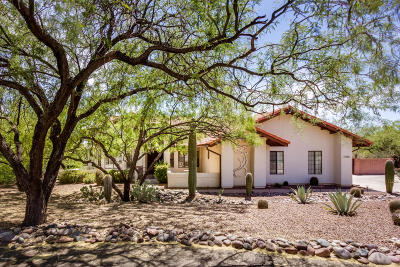 Tucson Single Family Home For Sale: 5441 N Airway Drive