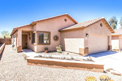 Tucson Single Family Home Active Contingent: 3593 W Lantana Hills Place
