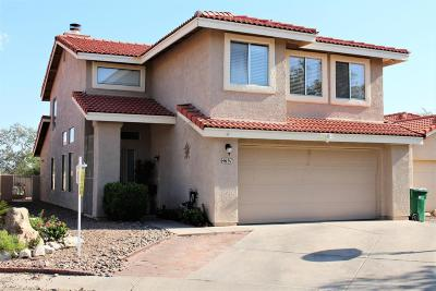 Tucson Single Family Home For Sale: 4691 W Weathervane Street