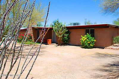 Tucson Single Family Home For Sale: 400 W Placita De La Poza