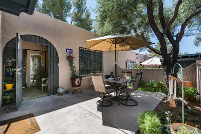 Tucson Townhouse For Sale: 4772 N Via Entrada
