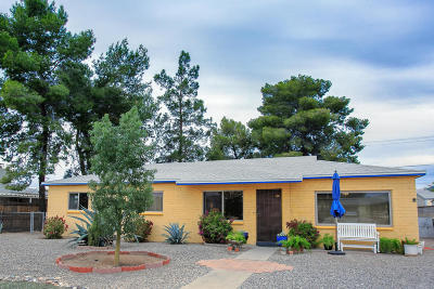 Tucson Single Family Home For Sale: 4627 E 10th Street