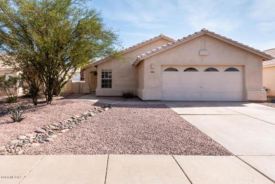 Tucson Single Family Home For Sale: 8604 N Cantora Way