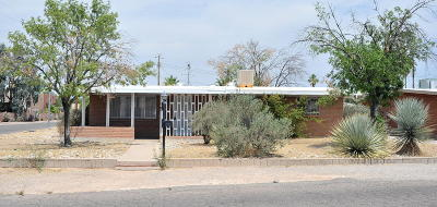 Tucson AZ Single Family Home Active Contingent: $169,900