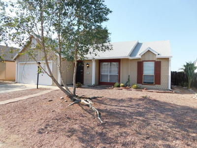 Tucson Single Family Home Active Contingent: 4031 W Treece Way