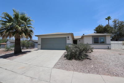 Tucson Single Family Home For Sale: 2600 W Lazybrook Drive