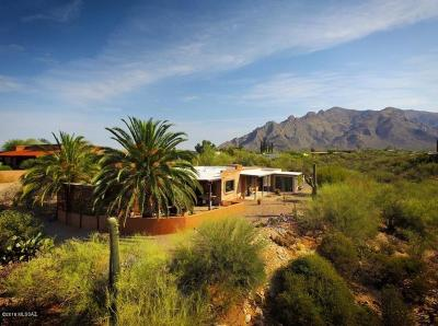 Tucson Single Family Home Active Contingent: 1010 E Silvertree Drive