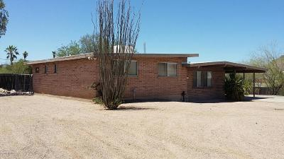 Tucson Single Family Home For Sale: 1872 W Astolat Road