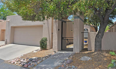 Tucson Townhouse For Sale: 6045 N Tocito Place